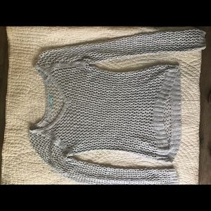 Maurices size large sweater silver